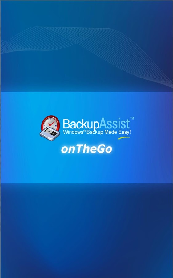 BackupAssist onTheGo - screenshot