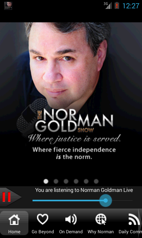 The Norman Goldman Show - screenshot