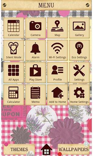 Cute Theme-Botanical&Gingham- 1.0 Windows u7528 3