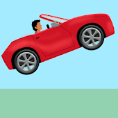 jumping car game