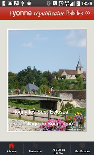 L'Yonne Républicaine Balades