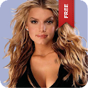 Jessica Simpson Live Wallpaper logo