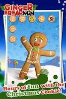 Screenshot of Talking Gingerbread Man Free