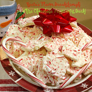White Chocolate Peppermint Bark!.