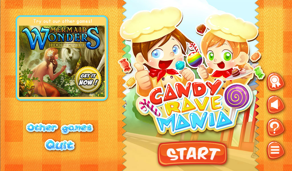 Candy Rave Mania Free - screenshot