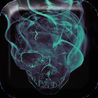 Smoking Skull Live Wallpaper 1.3