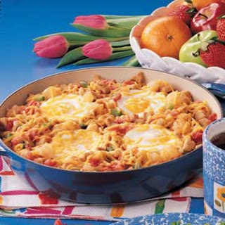 Southwestern Hash with Eggs.