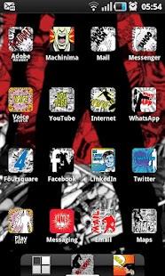 COMIC BOOK HD ADW Theme- screenshot thumbnail