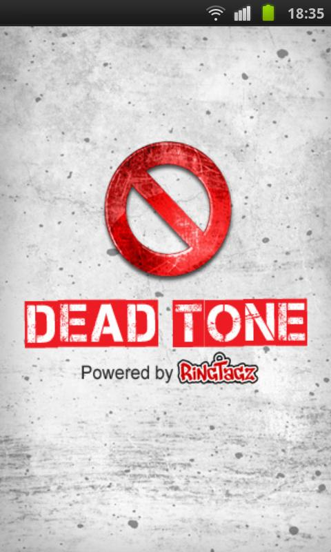 Dead Tone App - screenshot