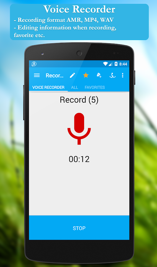Call recorder: CallRec free- screenshot