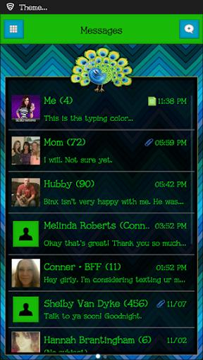 GO SMS THEME - SCS343