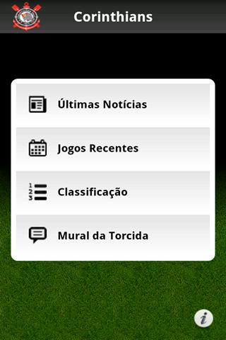 Corinthians Mobile - screenshot