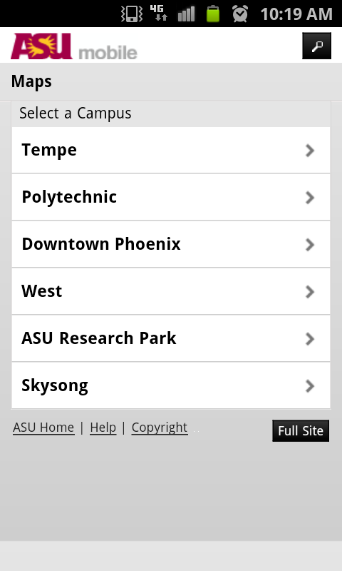 ASU Mobile - screenshot