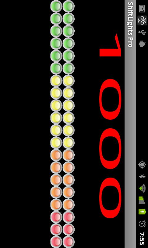 Shift Lights Pro 4 Torque Pro - screenshot