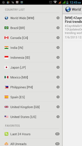新聞必備APP下載|TOP Country Trending Topics 好玩app不花錢|綠色工廠好玩App