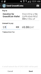 how to add groestlcoin to myehter wallet