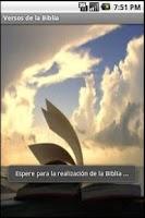 Screenshot of Versos de la Biblia Libre