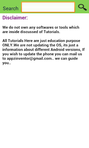 Update for Android (info) - Software up to date 2.0.127.1 screenshots 6