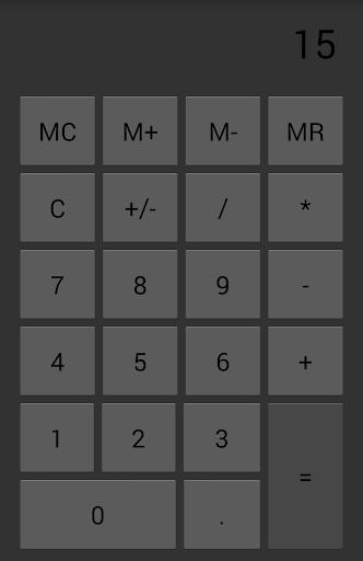 Rock Calculator