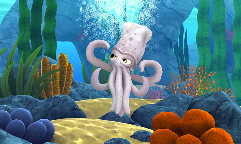 Alphie the Squid- screenshot