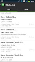 Screenshot of Cadê Meu Banco