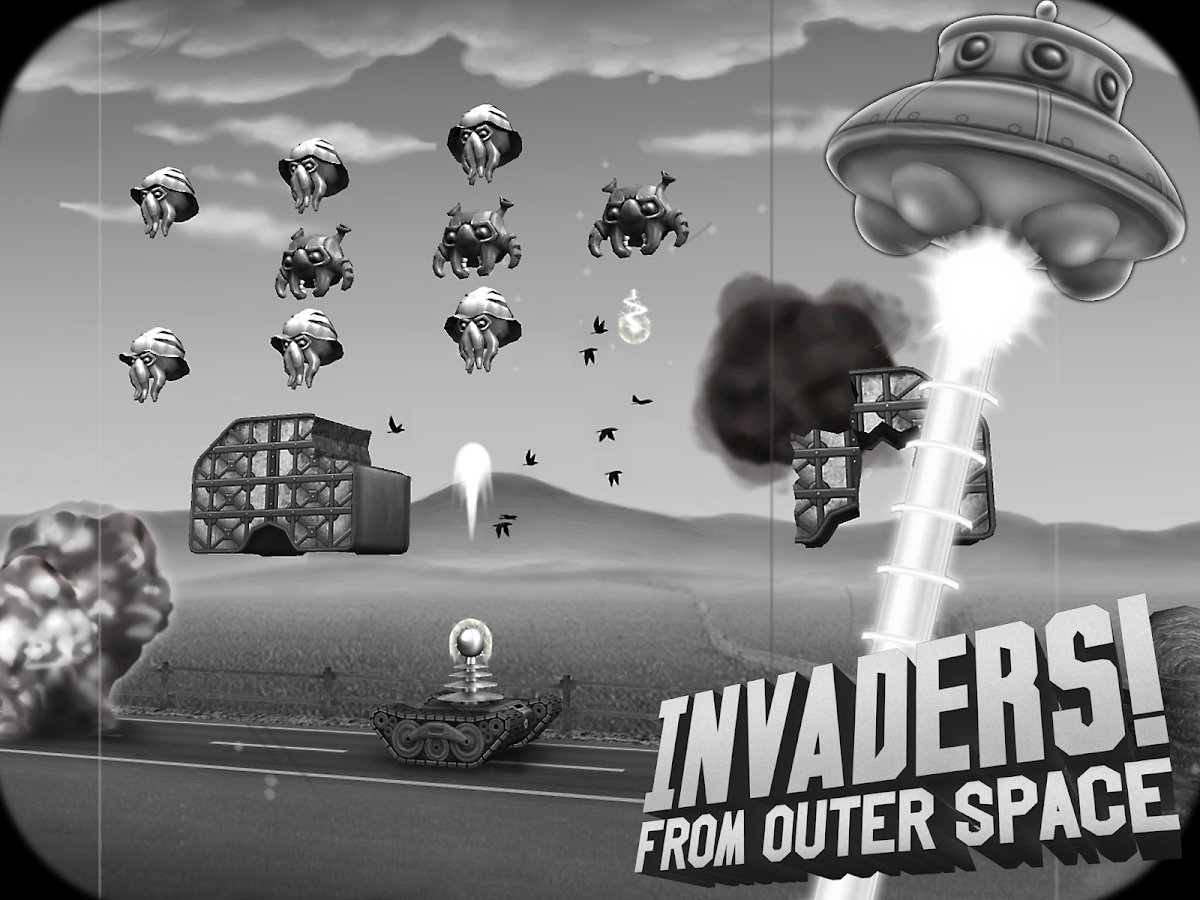 Invaders! From Outer Space - screenshot