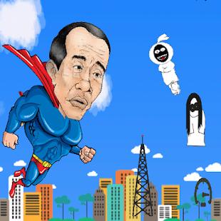 Jokowi vs Pocong