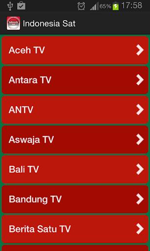 電視從印尼