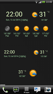 Hava Durumu Widget - screenshot