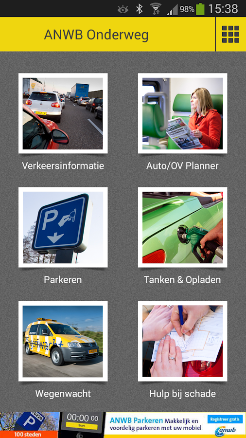 Onderweg - Verkeer & Parkeren- screenshot
