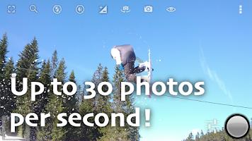 Screenshot of Fast Burst Camera