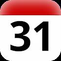 GR holidays calendar widget icon