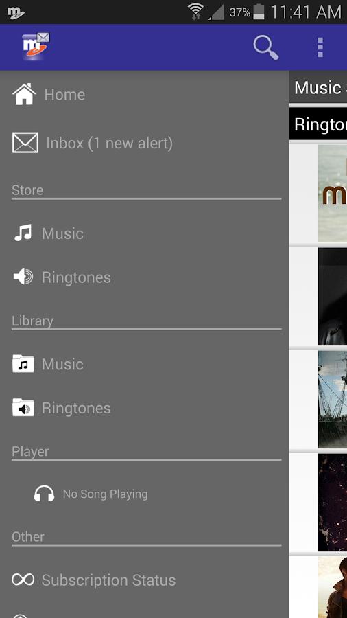 MetroMUSIC - screenshot
