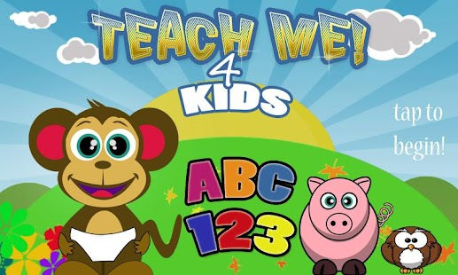 Teach Me 4 Kids ABC 123- screenshot thumbnail