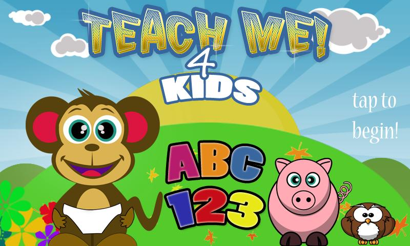 Teach Me 4 Kids ABC 123- screenshot