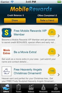 Mobile Rewards - screenshot thumbnail