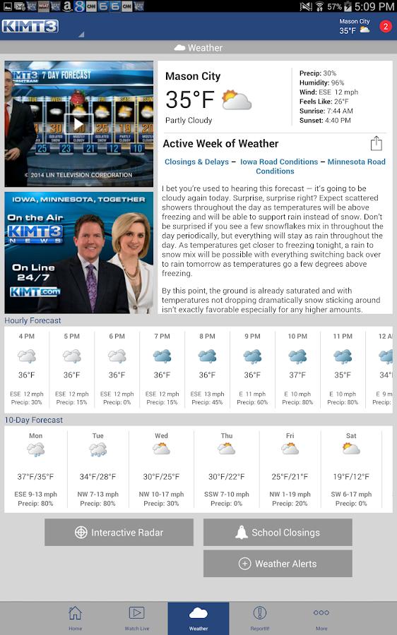KIMT News 3 - screenshot