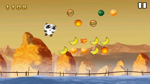 飢餓的熊貓