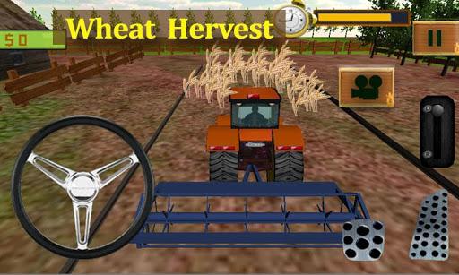 农用拖拉机司机3D:小麦