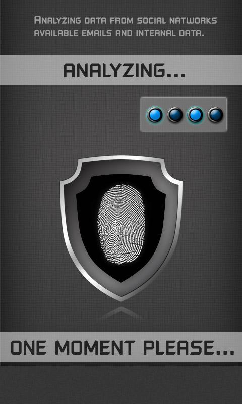 real FBI fingerprint scanner - screenshot