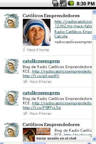 Red Católicos Emprendedores- screenshot