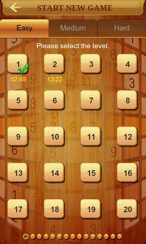 Sudoku II - screenshot