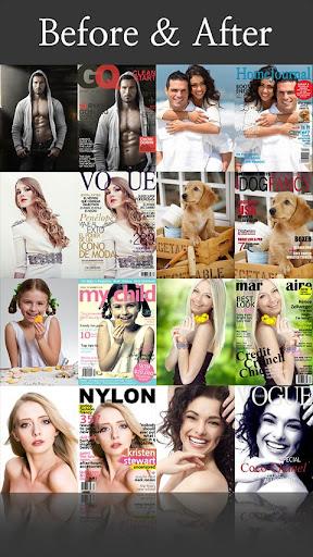 玩免費娛樂APP|下載CoverCamera – 制作杂志封面模特 app不用錢|硬是要APP
