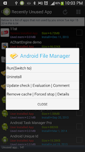 Android App Manager - screenshot thumbnail