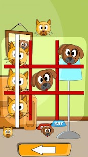 Cat Dog Toe 🐱🐶 - Tic Tac Toe Game ⭕️❌- screenshot thumbnail