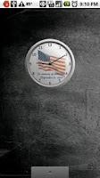 Screenshot of Sept. 11th Analog Clock