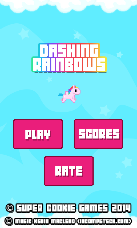 Dashing Rainbows- screenshot