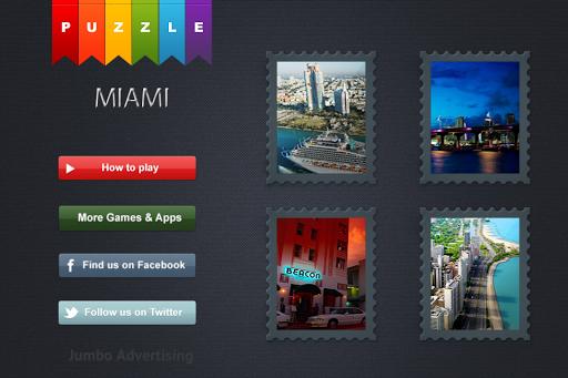 Miami City Guide Puzzle