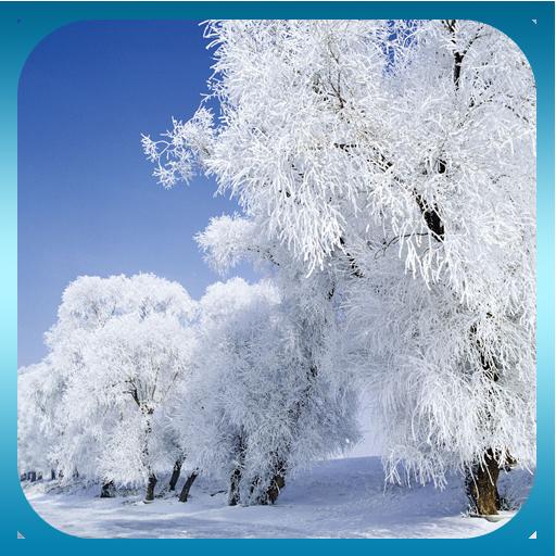 冬季降雪動態桌布 LOGO-APP點子