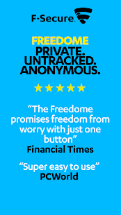 F-Secure Freedome VPN - screenshot thumbnail